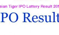 Asian Tiger Sandhani Life Growth Fund IPO Lottery Result 2015