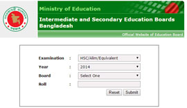 JSC Scholarship Result 2014 All Education Board In Bangladesh