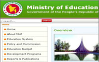 Ministry of Education Recruitment Job Circular 2015