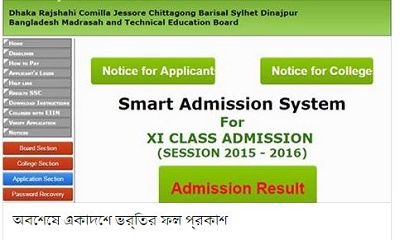 HSC Admission 2nd Merit List Result & Migration Process 2015