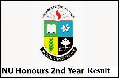 National University Honours 2nd Year Exam Result 2013