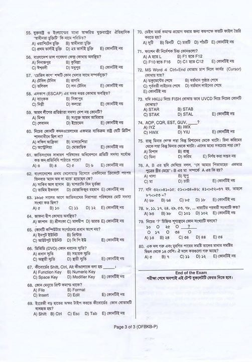 Krishi Bank Admit Card Exam Date Syllabus Result