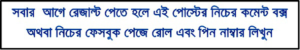 36th BCS Preliminary Result www.bpsc.gov.bd
