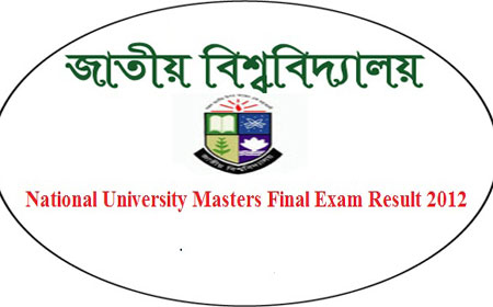 Masters Final Result 2012 www.nu.edu.bd