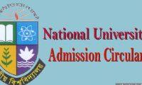 National University Honours Admission Notice 2016
