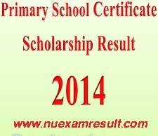 Primary School Certificate (PSC) Scholarship Result 2014 DPE