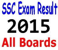 SSC Exam Result 2015 All Education Board