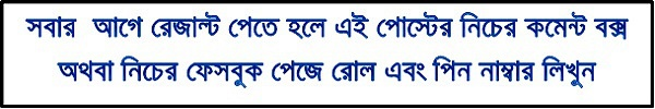 Degree 1st Year Result Download www.nubd.info