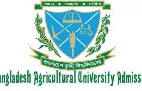 Bangladesh Agricultural University Admission Test 2017-18